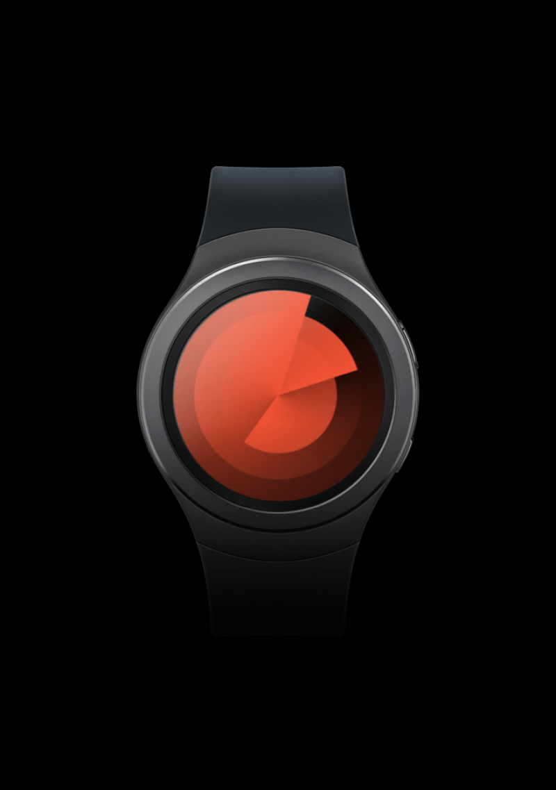 Feeld Samsung Watch Face Preview